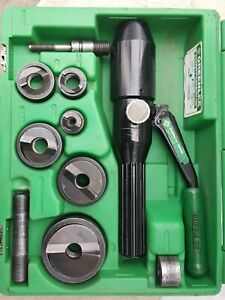 Greenlee 7806sb Quick Draw Hydraulic Punch Driver Set 1 2 To 2