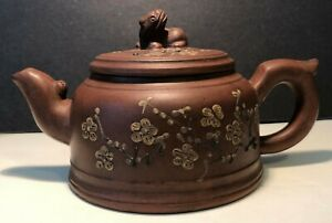 Antique Vintage Chinese Yixing Teapot And Cover