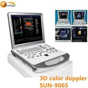 Portable Ultrasound Color Doppler With Cardiac And Vascular Probes