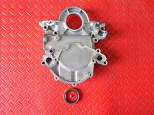 Aluminum Sb Ford Timing Cover 1967 1992 Includes Oil Seal Dip Stick Hole 302
