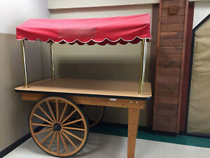 Farmers Market Kiosk Cart Flowers Vending Or Retail Or Fairs Or Mall
