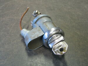 1951 1952 Chevrolet Styleline Fleetline Coupe Ignition Switch With Key
