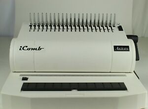 Akiles Icomb Comb binding Machine With Electric Hole puncher