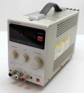 Kenwood Pa36 2a Regulated Dc Power Supply 0 36v 2a