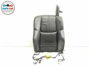 2008 2013 Bmw M3 E93 Convertible Front Left Driver Seat Back Upper Cushion Oem