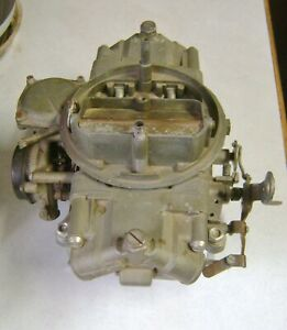 1965 396 Chevelle Holley Carburetor 3310 Warranty Replacement Dated 9 3 1 780