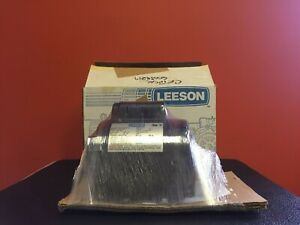 Leeson 101015 0 1 3 Hp 1725 Rpm 1 2 Dia General Purpose Electric Motor New