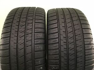 Set Of 2 Used Tires P245 45zr17 99y Xl Michelin Pilot Sport A s 3 2454517