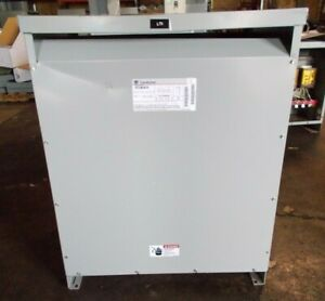 Ge 112 5 Kva Transformer 9t23b3875 480 208y 120 General Electric 3 Phase