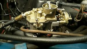 Autolite 1100 Carburetor 1963 68 Ford Mustang 170 200 V6 Engines Automatic Choke