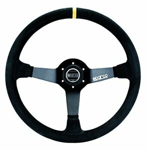 Sparco 015r325csn R 325 Series Suede Black Steering Wheel