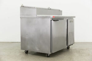Beverage Air Dp46 Refrigerated Counter Pizza Prep Table 63382 used