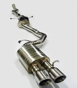 Becker 3 Inch Performance Catback Exhaust Fits 2010 To 2014 Audi A5 Quattro 2 0t