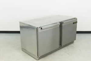 Continental Ucf60 Freezer Undercounter Reach in 477483 used