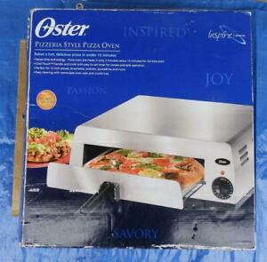 Oster Pizzeria style Countertop Pizza Oven Stainless Steel 003224