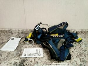 3m Dbi sala 1100304 Size 2xl 420 Lb Weight Cap Blue Full Body vest Style Harness