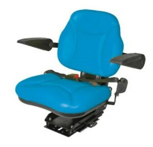 Big Boy Seat Blue For Ford Tractor 2000 3000 4000 5000 6000 7000
