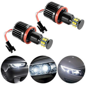 Super Bright Led Angel Eye Ring Light Bulb For Bmw E82 E90 E92 E60 X6 Ld1625