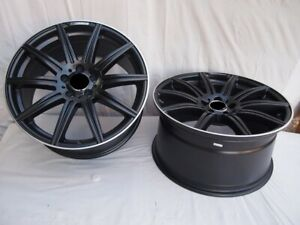 18 Amg E63s Style Black Wheels Rims Fits Mercedes Benz S400 S320 S430 S500 S550