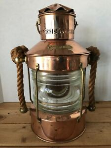 Ankerlicht Nautical Maritime Anchor Light Lantern Lamp Made In Holland