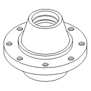 402622a1 New Adjustable Axle Hub Made For Case ih Combine Models 2366 2377