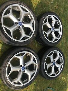 2017 Ford Focus St Wheels