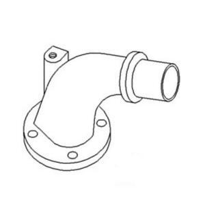 70267640 Exhaust Elbow For Allis Chalmers Farm Tractors 7030 7045 7060