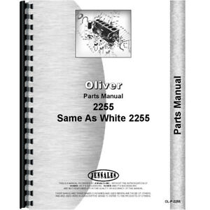 New White 2255 Tractor Parts Manual