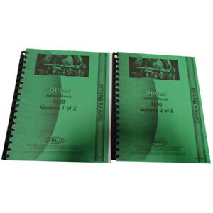 New Oliver 1600 Tractor Service Manual