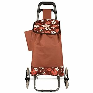 Stair Climbing Multipurpose Folding Utility Cart Laundry Grocery Shopping More
