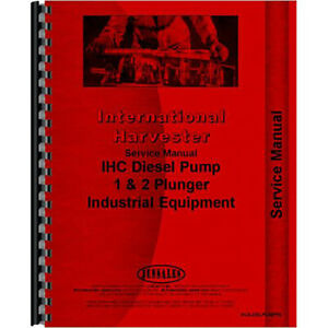 Aftermarket Service Manual For Austin Western 99h 99l Injection Pump