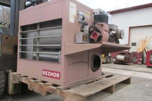 Reconditioned 140 000 Btu Reznor Waste Oil Heater Meter Pump 2 Year Warranty