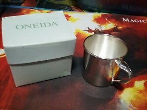 Vintage Antique Community Silver Plate Baby Cup New Condition