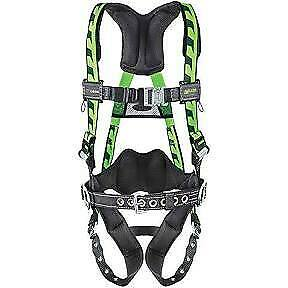 Miller Fall Protection Ac tb bdp ugn Aircore Harness With Tongue Buckle Leg