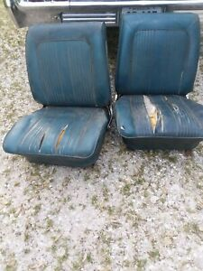 64 65 Chevelle Ss Bucket Seats Chevy Buick Olds Pontiac Gto 442 El Camino Gs