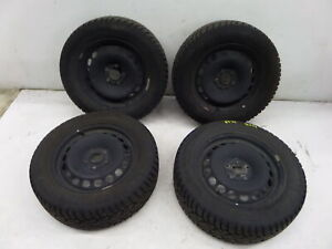 Vw Passat 16 Steel Wheels B6 06 10 Oem 5x112 Snow Tires