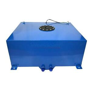 New 20 Gallon 80l Alloy Aluminum Fuel Cell Tank With Level Sender Foam Blue