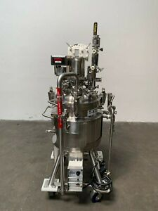 Precision 50 Liter Stainless Steel Jacketed Reactor W Agitator 76 Psi