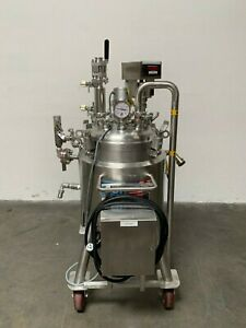 Dci 50 Liter 316l Stainless Steel Jacketed Reactor 45 Psi