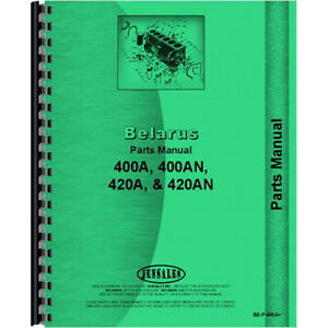 Parts Manual For Belarus 400an Tractor diesel