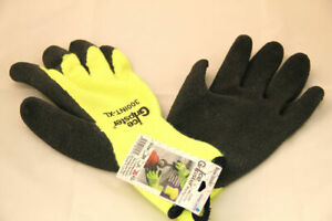 12pk 300int Ice Gripster Winter Thermal Rubber Coated Insulated Gloves
