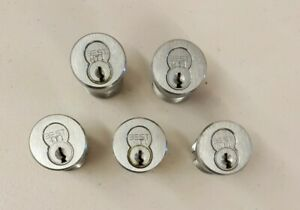 lot Of 5 Best Mortise Cylinders With Housing No Keys Locksmith Practice