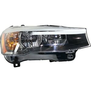 Headlight Assembly For 2015 2017 Bmw X3 Passenger Side Capa