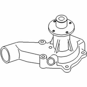 74007551 New Combine Water Pump W o Pulley Made To Fit Gleaner F2 G K2 M M2 M3