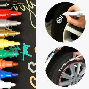 Car Tyre Permanent Marker Pen Paint Waterproof Wheel Rubber Tire Tread Letters