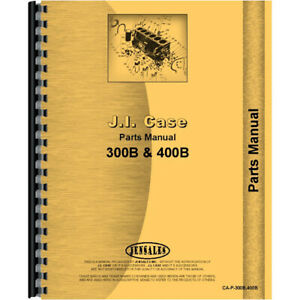 New Case 311b Tractor Parts Manual