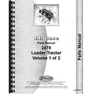 New Case 2470 Tractor Parts Manual