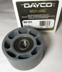 New Dayco Usa Gold Label 89101 Idler Tensioner Belt Pulley