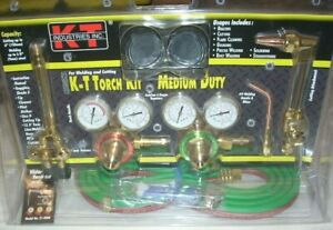 Kt Industries 31 5000 Cutting Welding Torch Regulator Outfit Oxy Acetylene Kit
