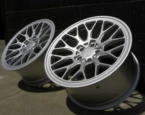 18x8 5 45 Esm Ff1 Flow Form Forged Wheels 5x130 Fits Porsche Boxter